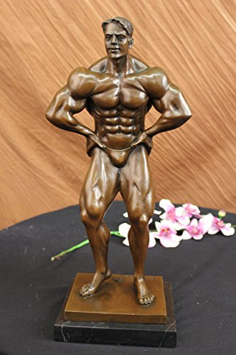 HandmadeEuropean-Bronze-Sculpture-Original-Muscular-Nude-Male-Standing1X-DS-488Statues-Figurine-Figurines-Nude-Office-Home-Dcor-Collectibles-Deal-Gifts