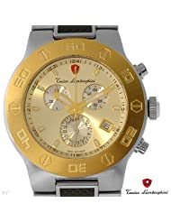 TONINO LAMBORGHINI EN034.306CF Brand New Gentlemens Chronograph Date Watch