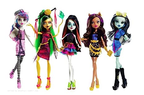 Monster High Scaris Dolls City
