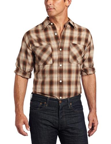 CCS Hooded Flannel Shirt Burnside White