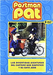 Pack Postman Pat ( Vol. 1-8 ) [DVD]