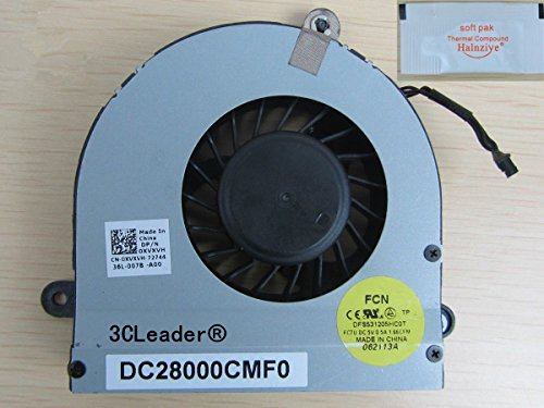 3CLeader® CPU Cooling Fan for Dell Alienware M17XR3 M17X R3 R4 0XVXVH DC28000CMF0 XVXVH (Please Check the Pictures and Part Number!!)
