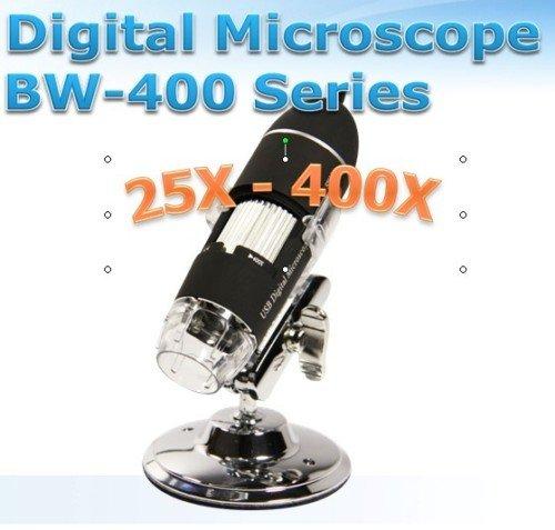 USB Microscope Video Camera 25X~400X 1.3M 8 LED