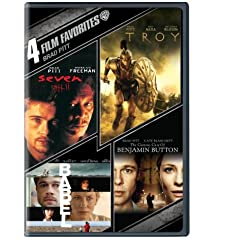 4 Film Favorites: Brad Pitt