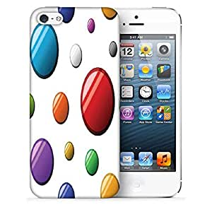 Snoogg Colorful Balls Printed Protective Phone Back Case Cover For Apple Iphone 5 / 5S