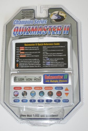 Champion Series Quizmaster II Handheld Electronic Game - 1