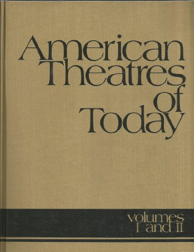 AMERICAN THEATRES OF TODAY: Volumes 1&2 (one book) VERY SCARCE NEAR FINE COPY