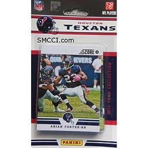 2012 Score Houston Texans Factory Sealed 12 Card Team Set Including Matt Schaub,... by Houston Texans Team Set