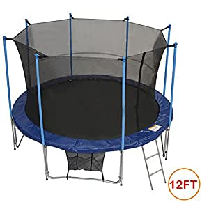 Amazon Com Zupapa 174 12 Ft T 220 V Approved Trampoline With