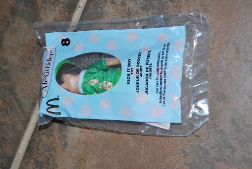 Mcdonald Happy Meals Madame Alexander Doll, #8, Kick it Boy Toy
