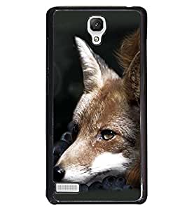 Fuson Animal Lover Girl Back Case Cover for XIAOMI REDMI NOTE - D4119