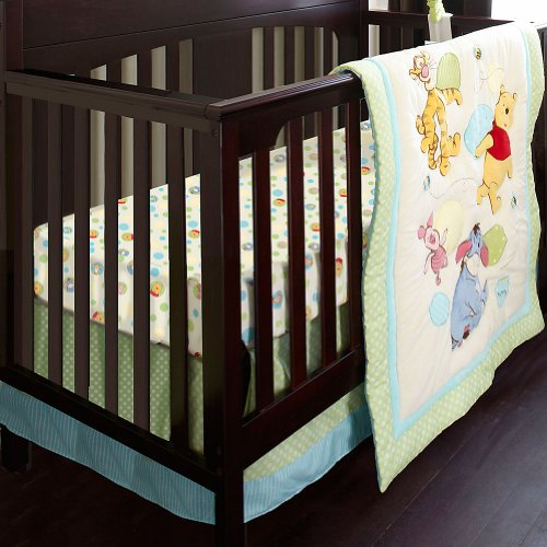 Disney Store Winnie The Pooh Crib Bedding Set (6-Piece)