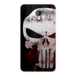 Cute Bleed Red Skull Back Case Cover for Micromax Unite 2 A106