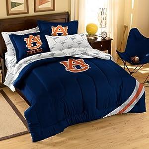 NCAA Auburn Tigers Bedding Set, Full by Northwest