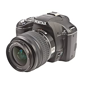 Pentax K2000 - Digital camera - SLR - 10.2 Mpix - body only - supported memory: SD, SDHC