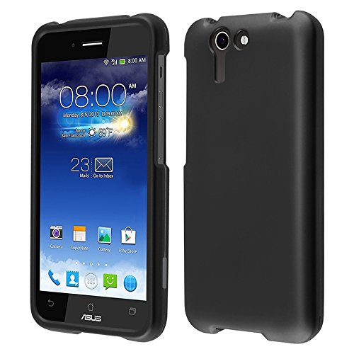 Hr Wireless Rubberized Cover For Asus Padfone X - Retail Packaging - Black
