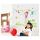 Oren Empower New Removable Nursery Large Wall Deorative Sticker For Kids Room