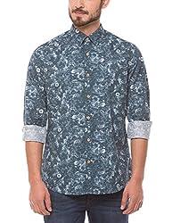 Shuffle Men's Casual Shirt (8907423017474_2021511201_X-Large_Grey)