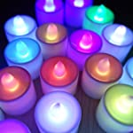 Set of 24 Colour Changing LED Tea lig...