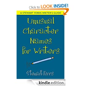 Unusual Character Names for Writers