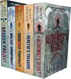 Scott Mariani Collection 5 Books Set Pack RRP : 34.95 ( The Shadow Project, The Alchemist's Secret, The Doomsday Prophecy, The Heretic's Treasure, The Mozart Conspiracy) (Scott Mariani) Scott Mariani