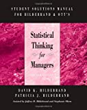 img - for Student Solutions Manual for Hildebrand/Ott's Statistical Thinking for Managers, 4th book / textbook / text book