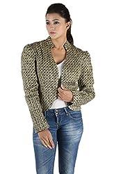 Owncraft golden wool jacket.