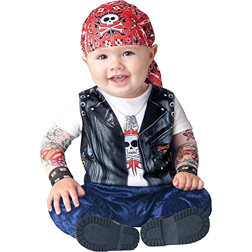 Born to be Wild Biker Toddler Costume - 18 Months-2T
