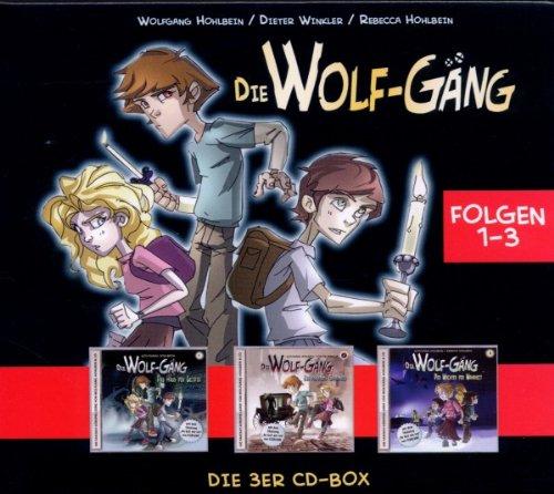 WOLF-GÄNG,DIE DIE WOLF-GÄNG BOX 1 (FOLGE 1-3