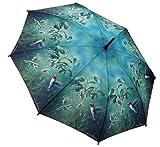Galleria-Hautman-Brothers-Hummingbirds-Auto-Stick-Umbrella---Hummingbirds