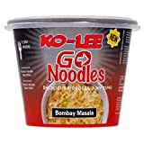 Ko-lee Go Cup Noodles Bombay Masala Flavour 65 g (Pack of 6)