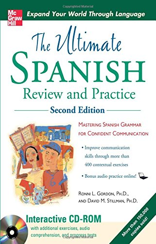 Ultimate Spanish Review and Practice with CD-ROM, Second...