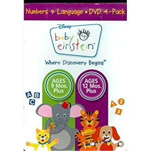 Baby E Numbers & Language