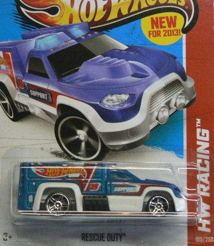 Hot Wheels HW Racing 105/250 Rescue Duty - 1