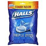Halls Mentho-Lyptus Cough Suppressant/Oral Anesthetic, Mentho-Lyptus, Economy Pack, 80 drops