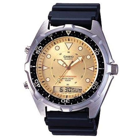 Casio Analog Digital Watches Gold
