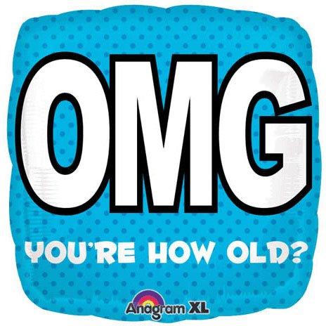 "18"" Omg Birthday"