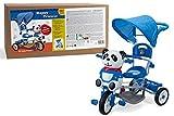Vitamina G 36956 - Triciclo Metallo Panda, Azzurro