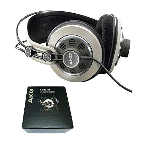 Akg K242 Hd (K242Hd) Hi-Fi Stereo Studio Semi-Open On-Ear Standard Headphones + Free Gift
