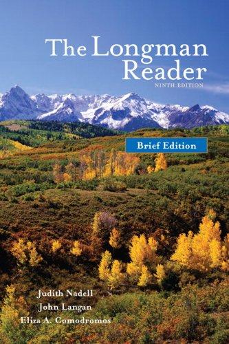 The Longman Reader, Brief Edition (9th Edition)