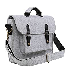 Koolertron 13-13.3 inch Felt Laptop Sleeve Carrying Case Tote Bag Cover for Most 13.3 Inch Apple MacBook Air,MacBook Pro Retina,Ultrabook,Chromebook and iPad Tablet
