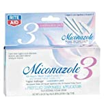 Rite Aid Miconazole 3 Day Treatment, Combination Pack