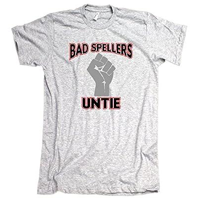 Bad Spellers Untie American Apparel T-Shirt