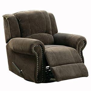 Terrific 3 Homelegance 9708Nf 1 Swivel Rocker Recliner Chair Dark Ibusinesslaw Wood Chair Design Ideas Ibusinesslaworg