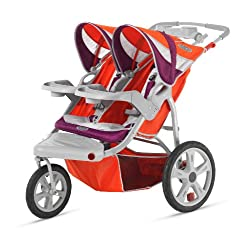 InStep Flight Double Swivel Stroller