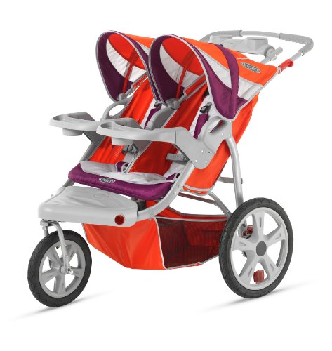 InStep Flight Double Swivel Stroller - 1