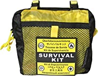 Survival Metrics Pro Survival Kit Pouch, Yellow