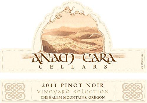 2011 Anam Cara Cellars Vineyard Selection Pinot Noir 750 Ml