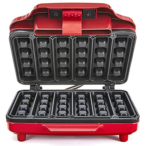 Find Bargain Bella Waffle Stick Maker ~ RED