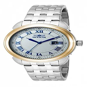 Invicta Specialty Men's 16174 Stainless Steel Silver Dial Watch
